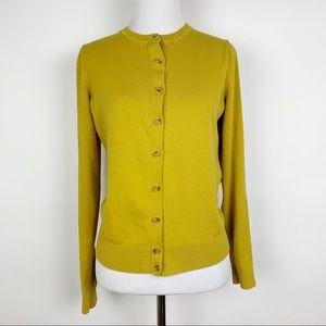 Ann Taylor Loft Button Front Cardigan